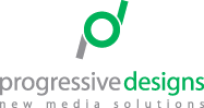 Progressive Designs New Media Solutions Logo